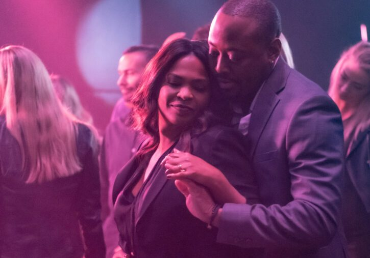 """Nia Long and Omar Epps in """"Fatal Affair."""""""